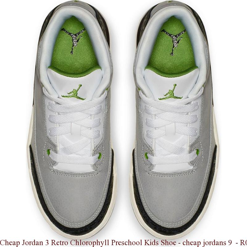 a5e848ee Cheap Jordan 3 Retro Chlorophyll Preschool Kids Shoe – cheap jordans ...