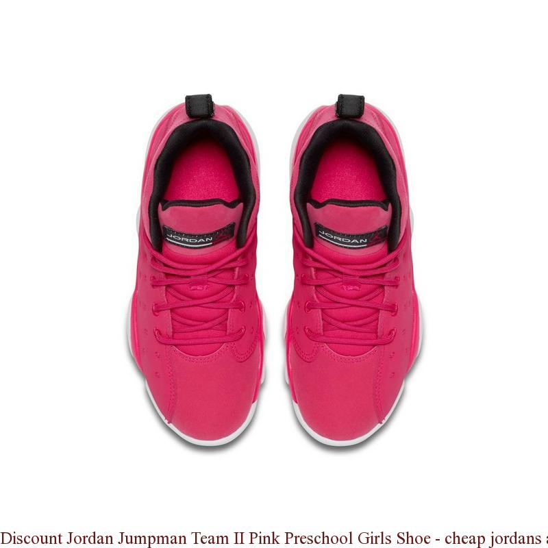 94154fd69808 Discount Jordan Jumpman Team II Pink Preschool Girls Shoe – cheap ...